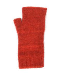 New Pricing - NZ Made Possum Fur and Merino Fingerless Mittens - 18 Colours