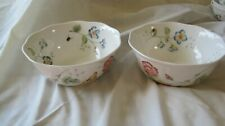 """Lenox Butterfly Meadow 7"""" All Purpose Ceareal Bowl"""