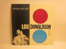 LOU DONALDSON - Swing and Soul ~ BLUE NOTE 1566 [M] {1983 japan king}- VERY RARE