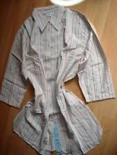 Lange Damen-Bluse,3/4-Arm gestreift Gr. 44/46, Neu,Bb2