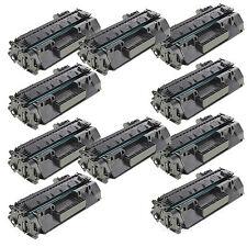 10 PK CE505A 05A Toner Cartridge For HP Laserjet P2035 P2035N