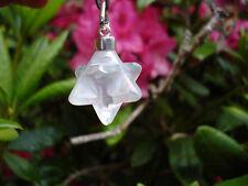 Merkaba Pendant in Angel-Opal Aura Quartz-The Magical Geometric Shape!
