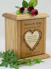 Heart Poem Urn - NEW USA Made