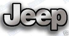 "JEEP  IRON ON 100% EMBROIDERY PATCH PATCHES  2.75"" X 1.25"" WRANGLER LAREDO CAR"