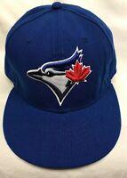 Toronto Blue Jays Baseball New Era cap hat Fitted Size 7 5/8