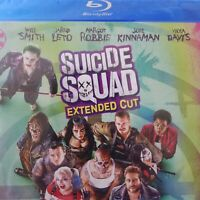 Suicide Squad Blu-ray Extended Cut DVD Disc Set NO DIGITAL COPY Leto Robbie