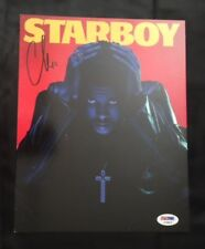THE WEEKND ABEL TESFAYE STARBOY AUTOGRAPHED PHOTOGRAPH PSA DNA AC98679