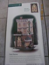 Dept 56.Fosters Pharmacy.from Christmas in the City Series New 2000