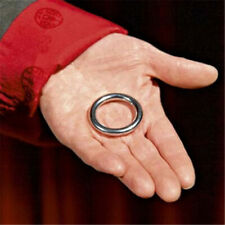 Ellis Ring Magic Tricks Penetrate Vanish Close Up Street Illusions Magic Props