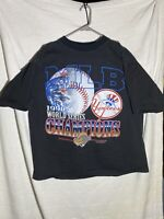 Vintage 1996 New York Yankees World Series Single Stitch True Fan Men's XL