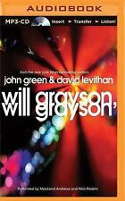 Will Grayson, Will Grayson David Levithan and John Green (MP3 CD, Unabridged)