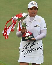 Inbee Park signed Lpga 8x10 Trophy photo with Coa