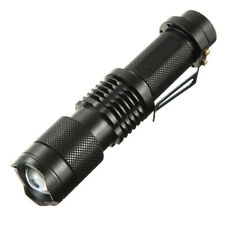 MECO  T6 1600LM 5 Modes Zoomable Mini Flashlight 18650