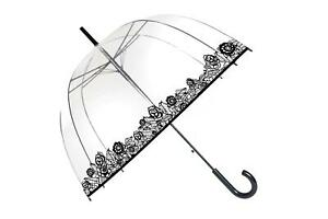 Parapluie cloche transparent Dentelle - Smati