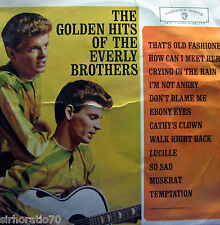 THE EVERLY BROTHERS Golden Hits LP Original 60s MONO