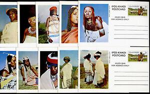 Transkei set of 10 prepaid postcards - Costumes, Sheep