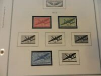Lot of 34 United States 1941-1976 Air Post Air Mail Stamps