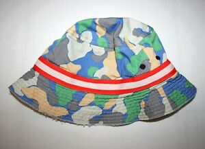 Boden Boys Camo Summer Fishermens Hat age 7-10 NEW never worn