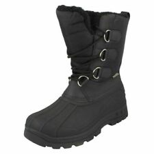 Snow, Winter Lace Up Synthetic Boots for Women