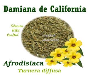 Damiana de california 4 oz Hierbas Damiana loose tea herb