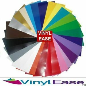 60 Sheets 12 in x 6 in Permanent Craft Vinyl for Cricut LIKE Major Branded Vinyl
