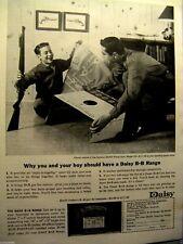 """Daisy BB Gun 1963 Pump Gun Model 25-Original Print Ad  8.5 x 11 """""""