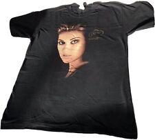 Vintage 1998 Celine Dion Concert Tour T Shirt By T America Music Tee Black Sz L