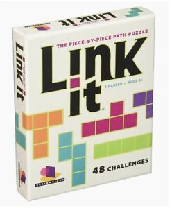 Brainwright Link It - The Piece By Piece Path Puzzle 48 Challenges