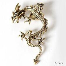 Fashion Gothic Punk Metal Vintage Style Fly Dragon Ear Cuff Wrap Clip Earring