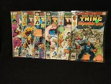 Marvel Two-In-One 55,56,57,58,59,60 (Marvel, Bronze Age) Lot Of 6Comic Books