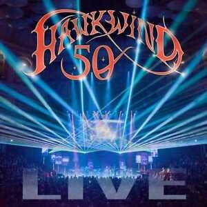 Hawkwind - 50 Live (NEW 2CD)