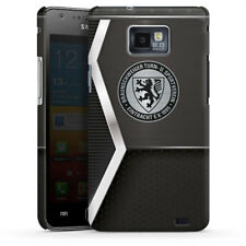 Samsung Galaxy S2 Premium Case Cover - Metall-Look