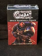 Citadel Combat Cards: Space Marines Chaos 62 Card Deck