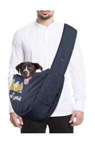 EBAERR Pet Carrier Hands Free Dog Bag Puppy Travel Adjustable Walking Shopping M