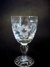 Beautiful Webb Corbett Full Crystal Stemware 4 3/8'' Tall Barware Glass 8 avail.