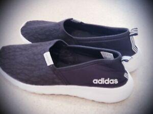 ADIDAS Neo Cloudfoam Lite Racer Slip On Shoes WOMEN'S Sz 10