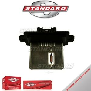 STANDARD HVAC Blower Motor Resistor for 2013-2015 SUBARU XV CROSSTREK