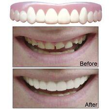 Snap On Teeth Cosmetic Secure Smile Instant Veneers Dental False Natural Large