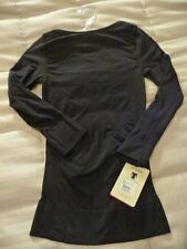 NWT Spanx On Top & In Control 978 Boatneck 3/4 Sleeve Shaping top BLK WHT BGE