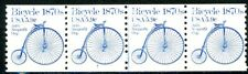 Bicycle 1870s Transportation Coil MNH PNC4 Plate 3 Scott's 1901