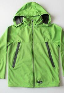 Burton Dryride Softshell Bonded Fleece Jacket w/Removable Hood, Men's size Large