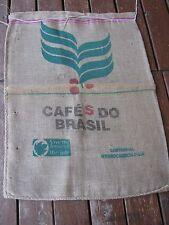 Used Cafes Do Brasil Fazenda Lagoa Cafe heavy burlap empty sack