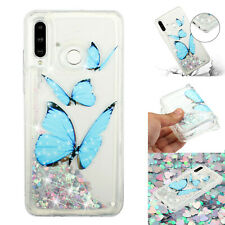 Flowing Liquid Glitter Clear Silicone Case Cover For Samsung Galaxy A10 A30 A50