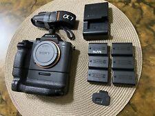 Sony Alpha a7R II 42.4MP Digital Camera - Black (Body and battery grip) 52803