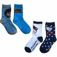 Disney Kinder Socken 8 er Pack Gr. 23 - 34 Hello Kitty Star Wars Mädchen Jungen