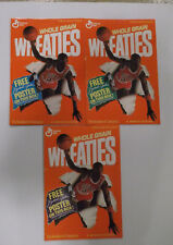 General Mills Wheaties 1998 Michael Jordan Posters Lot of 3 New Store Promotion