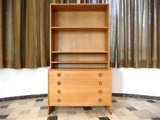 HANS J. WEGNER Danish Oak Wood RY MØBLER Cabinet Chest Commode 1956 Regal 1960s
