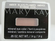 Mary Kay Mineral Eye Color Eyeshadow *AMBER BLAZE* Eye Shadow NEW Shimmer