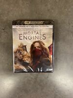 Mortal Engines 4K Ultra HD/Blu-Ray/Digital Brand New Sealed