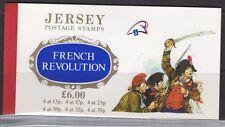 Jersey SGSB 41 1989 Revolución francesa FOLLETO estampillada sin montar o nunca montada